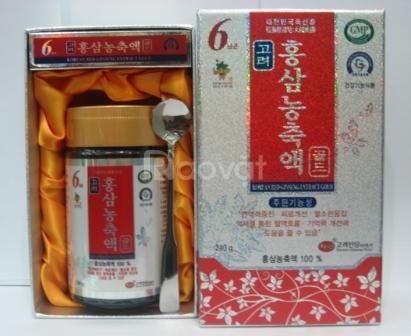 Sâm Yến Sài Gòn bán Cao Hồng Sâm Hàn Quốc